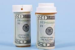 De kosten van de gezondheidszorg Stock Afbeeldingen