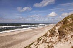 De Kosten van de Noordzee Stock Fotografie