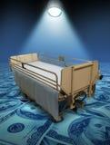 De Kosten van de Zorg van het ziekenhuis Stock Foto's