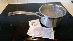De kosten van Enery Royalty-vrije Stock Fotografie