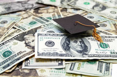 De kosten van het onderwijs Royalty-vrije Stock Foto