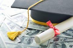 De kosten van het onderwijs Stock Foto's