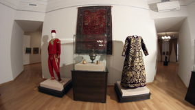 De kostuums van de ottomaneera Dolly schot stock footage