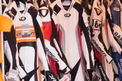 De Kostuums van het motorfietsras Stock Afbeelding
