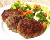 De koteletten van Turkije Stock Foto