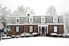 De koude Dag van de Winter royalty-vrije stock foto