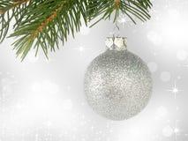 De koude decoratie van de winterkerstmis Stock Fotografie
