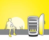 De koude drank van de zomer Stock Foto