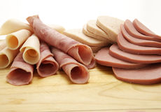 De koude Inzameling van het Delicatessenwinkelvlees Stock Afbeelding