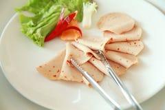 De koude sneed vlees Stock Fotografie