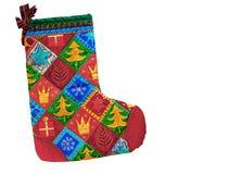 De Kous van Kerstmis Stock Afbeeldingen