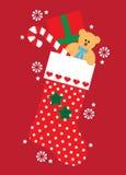 De kous van Kerstmis vector illustratie