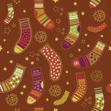 De Kousen van Kerstmis Stock Fotografie