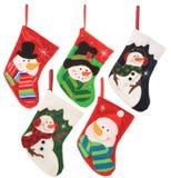 De kousen van Kerstmis Royalty-vrije Stock Fotografie