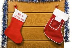 De kousen van Kerstmis Royalty-vrije Stock Afbeeldingen