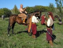 De kozakken stock foto