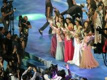 De krönade vinnarna för lysande festspel` s 5 royaltyfria bilder