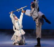 """De kraan de emmer-vijfde handeling steelt onsterfelijk-Kunqu Opera""""Madame Witte Snake† royalty-vrije stock fotografie"""
