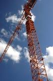 De Kraan van de bouw stock fotografie