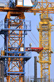 De kraan van de bouwtoren Royalty-vrije Stock Afbeeldingen