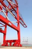 De kraan van de brug stock foto's