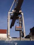 De kraan van de container Royalty-vrije Stock Foto