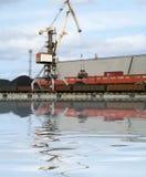 De kraan van de container Royalty-vrije Stock Fotografie