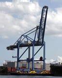 De Kraan van de container Stock Foto's