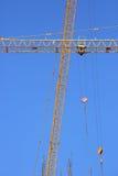 De kraan van de machinesbouw Stock Foto