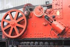 De Kraan van de stoom, Loodsen Grosmont Stock Foto's
