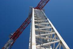 De kraan van de toren Stock Fotografie