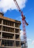 De Kraan van de Toren van de bouw stock fotografie