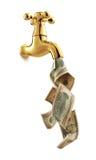 De kraan van het geld Royalty-vrije Stock Afbeeldingen