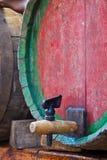 De kraan van het vat stock afbeelding