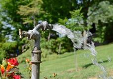 De kraan van het water Stock Foto's