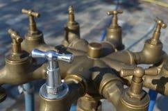 De kraan van het water Stock Afbeeldingen