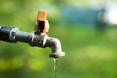 De kraan van het water Royalty-vrije Stock Foto
