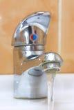 De kraan van het water royalty-vrije stock fotografie