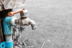 De kraan van het water Stock Foto