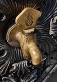 De kraan van het water voor de Blauwe Moskee Stock Foto