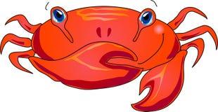 De krab van het beeldverhaal vector illustratie