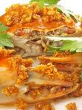 De krab van het knoflook Stock Foto