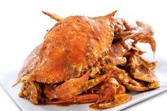De Krab van Spaanse pepers Stock Foto's
