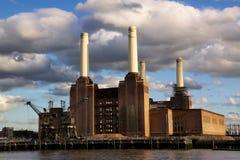 De Krachtcentrale van Battersea in Londen royalty-vrije stock afbeelding