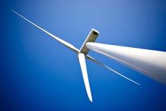 De krachtcentrale van de de energieturbine van de wind Stock Foto