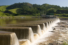 De Krachtcentrale van de hydro-elektriciteit stock afbeeldingen