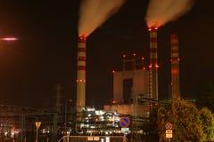De krachtcentrale van de steenkool Stock Afbeelding