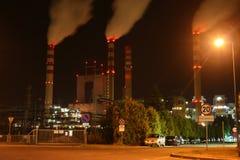 De krachtcentrale van de steenkool Stock Fotografie