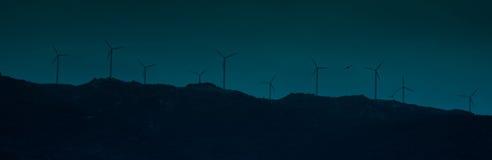 De krachtcentrale van de wind Royalty-vrije Stock Fotografie