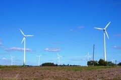 De krachtcentrale van de wind Royalty-vrije Stock Foto's